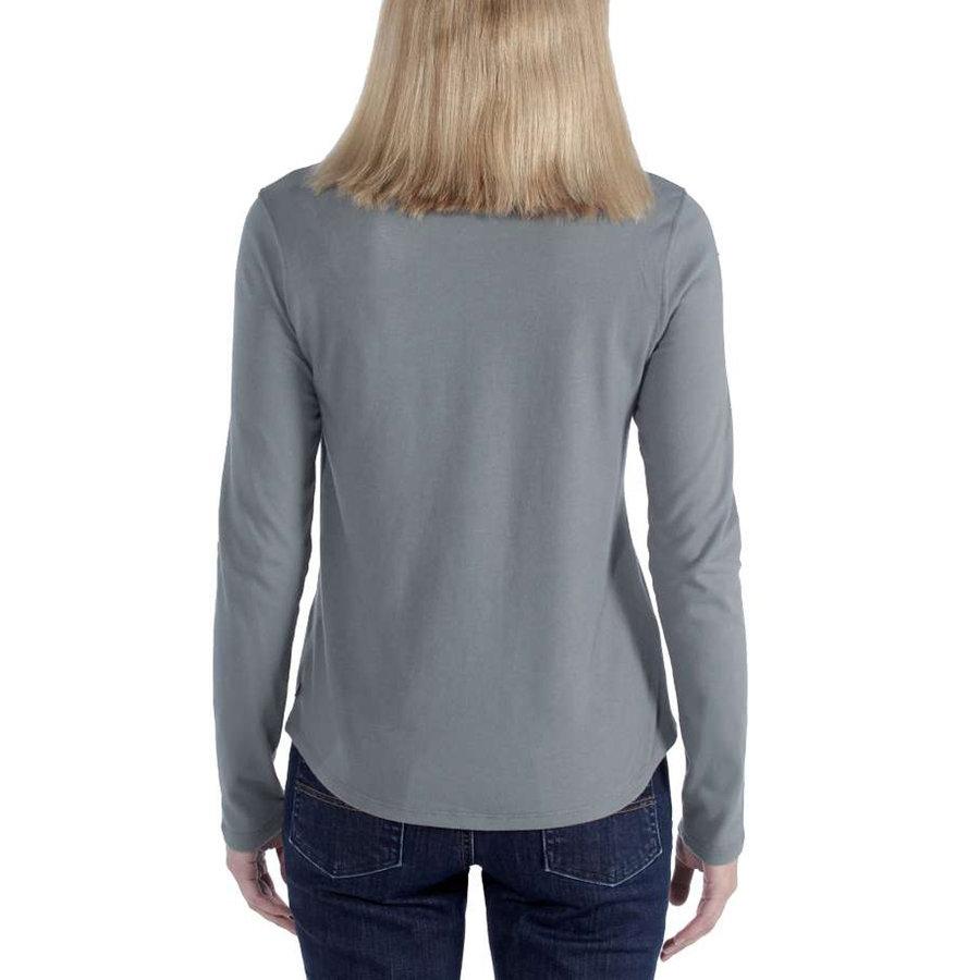 Lockhart Graphic Balsam Green Long Sleeve Shirt Dames