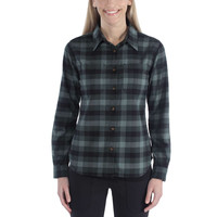 Hamilton Flannel Balsam Green Shirt Dames