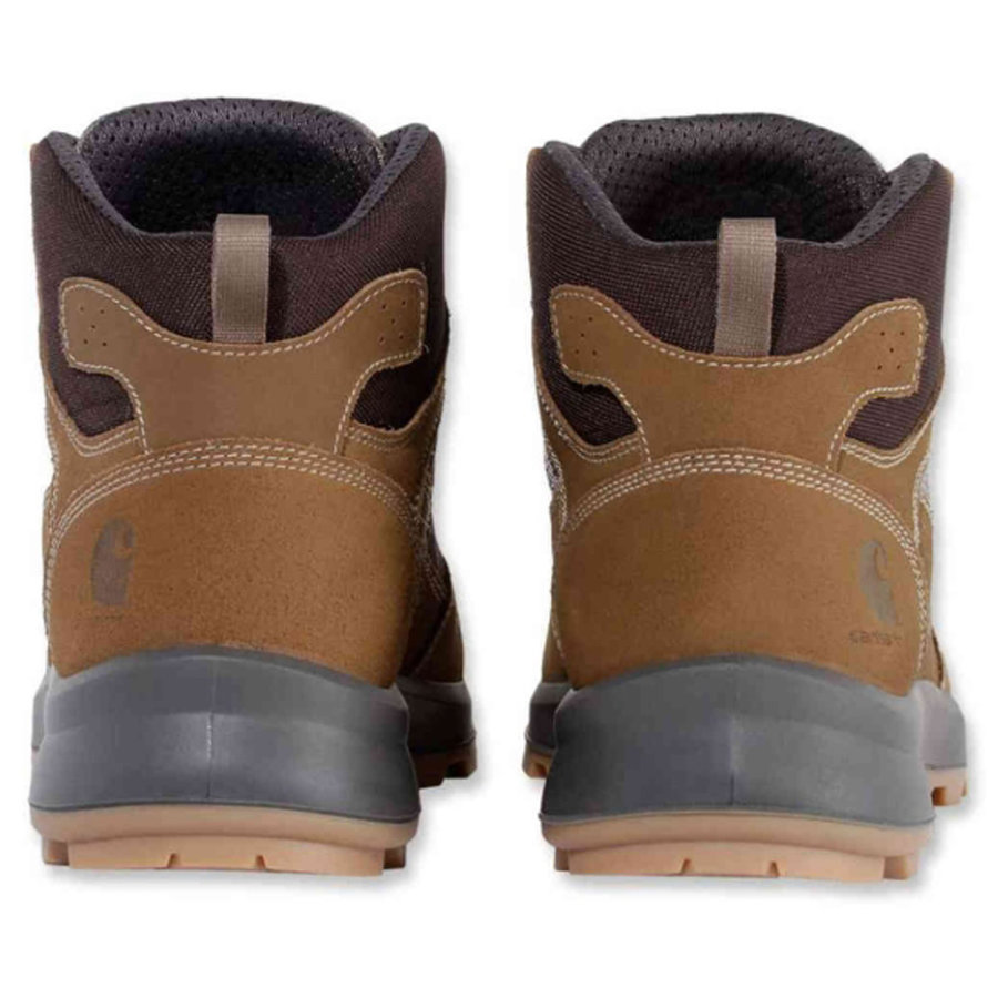 Safety Sneaker Mid S1P Bruin Werkschoenen Dames