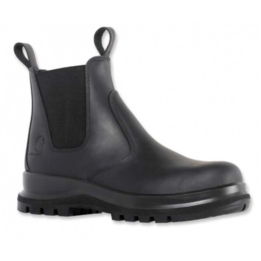 Chelsea Boot Zwart Werkschoenen Dames