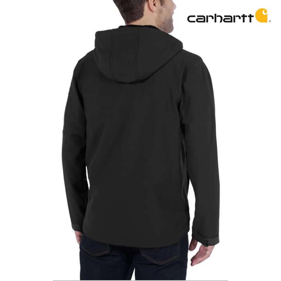 Hooded Rough Cut Zwart Werkjas Heren