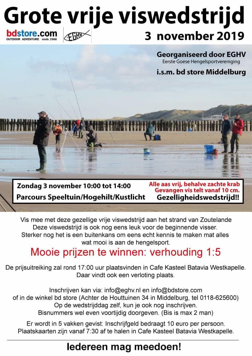 Grote Vrije Strandwedstrijd 2019