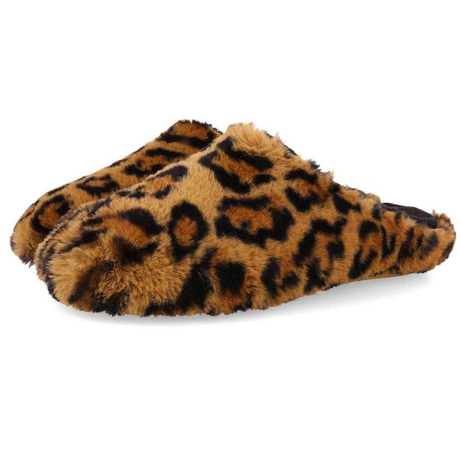 Tununak Leopard Pantoffels Dames