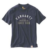 Carhartt Graphic Navy T-Shirt Heren