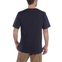 Graphic Navy T-Shirt Heren