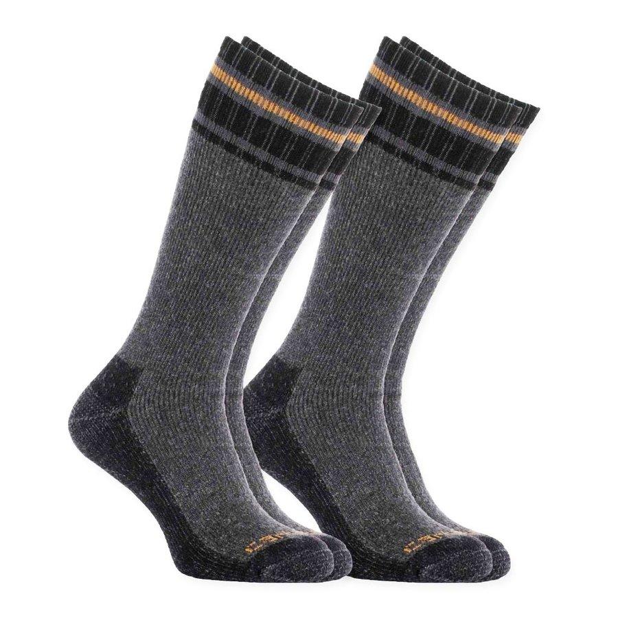Cold Weather Thermal Grijs 2 Paar Sokken Heren