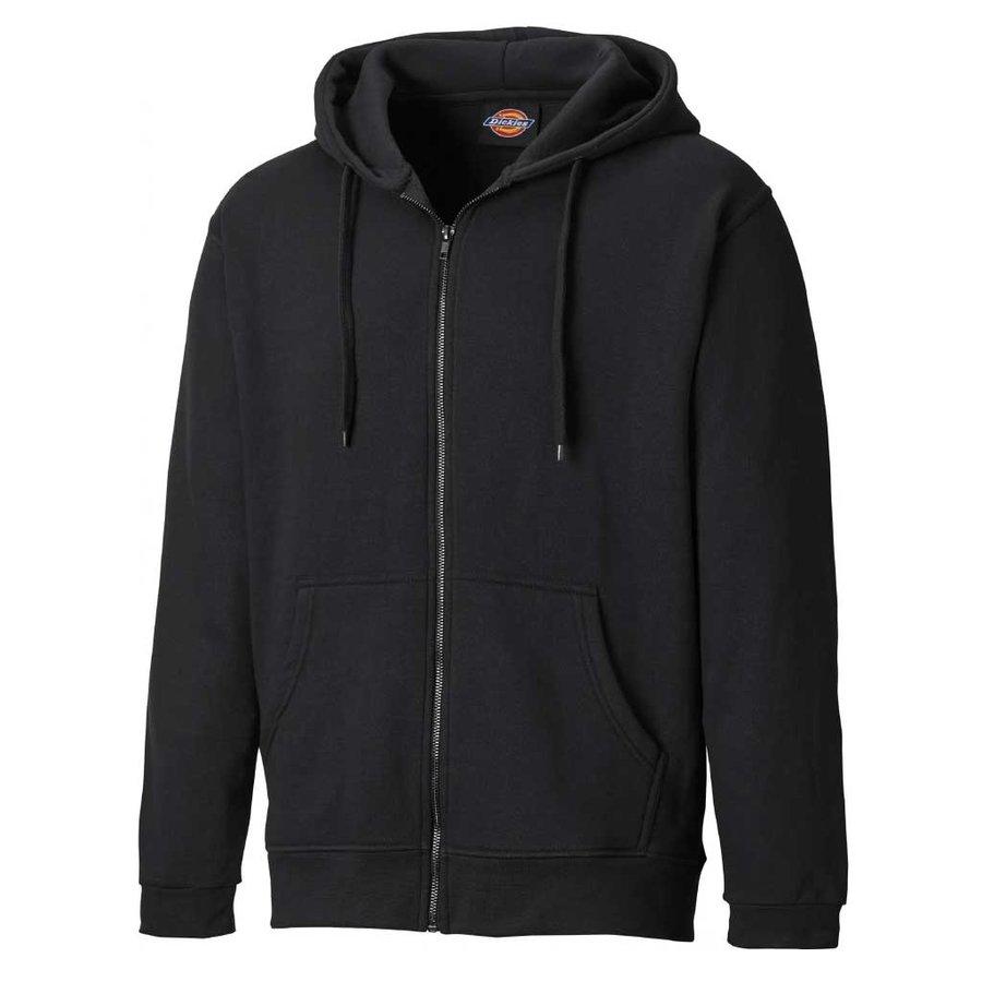 Redwood Zip Thru Zwart Vest Heren
