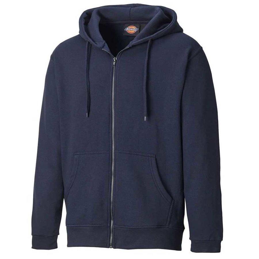 Redwood Zip Thru Navy Vest Heren