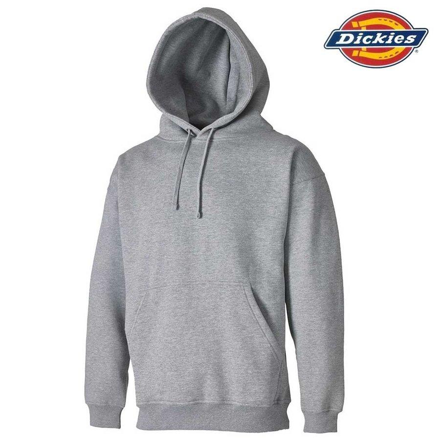 Hooded Grey Melange Sweatshirt Heren