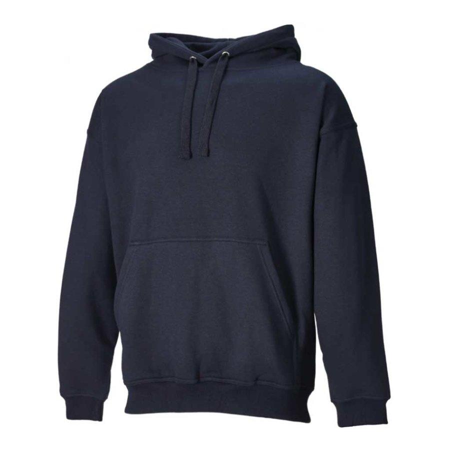 Hooded Navy Sweatshirt Heren