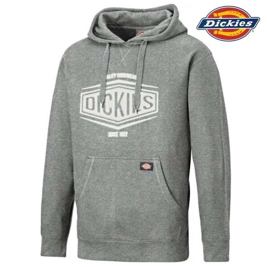 Rockfield Grey Melange Hooded Sweatshirt Heren