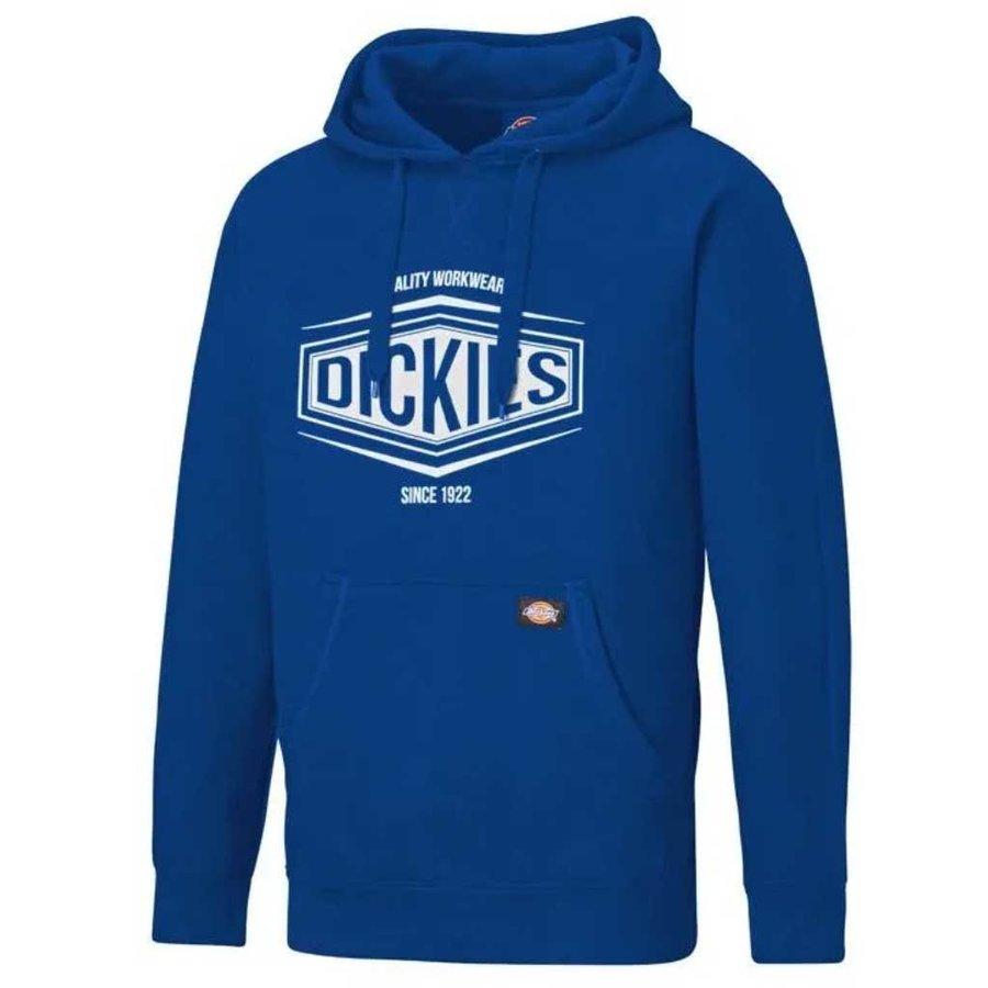 Rockfield Royal Blue Hooded Sweatshirt Heren