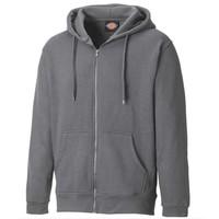Redwood Zip Thru Grey Melange Vest Heren