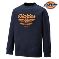 Everett Navy Orange Sweatshirt Heren