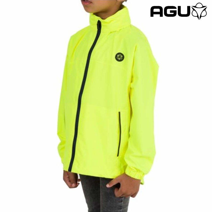 Go Neon Geel Regenjas Kids