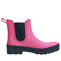 4200 SEBS Zwart Roze Enkellaars Dames