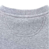 Block Logo Crewneck Heather Grey Sweatshirt