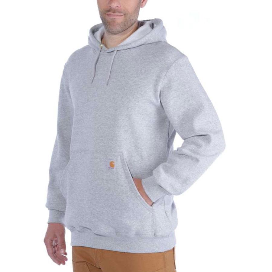 Midweight Hooded Sweatshirt Heather Grey Heren