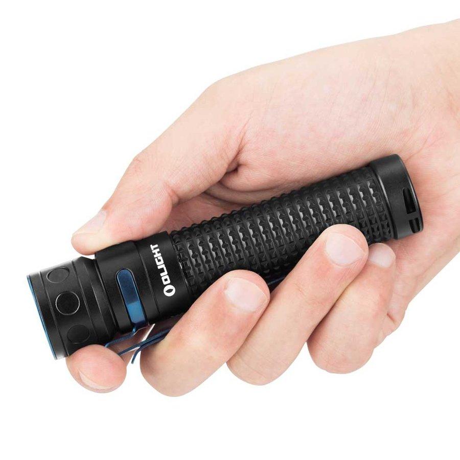 Baton Rechargeable Zwart Zaklamp