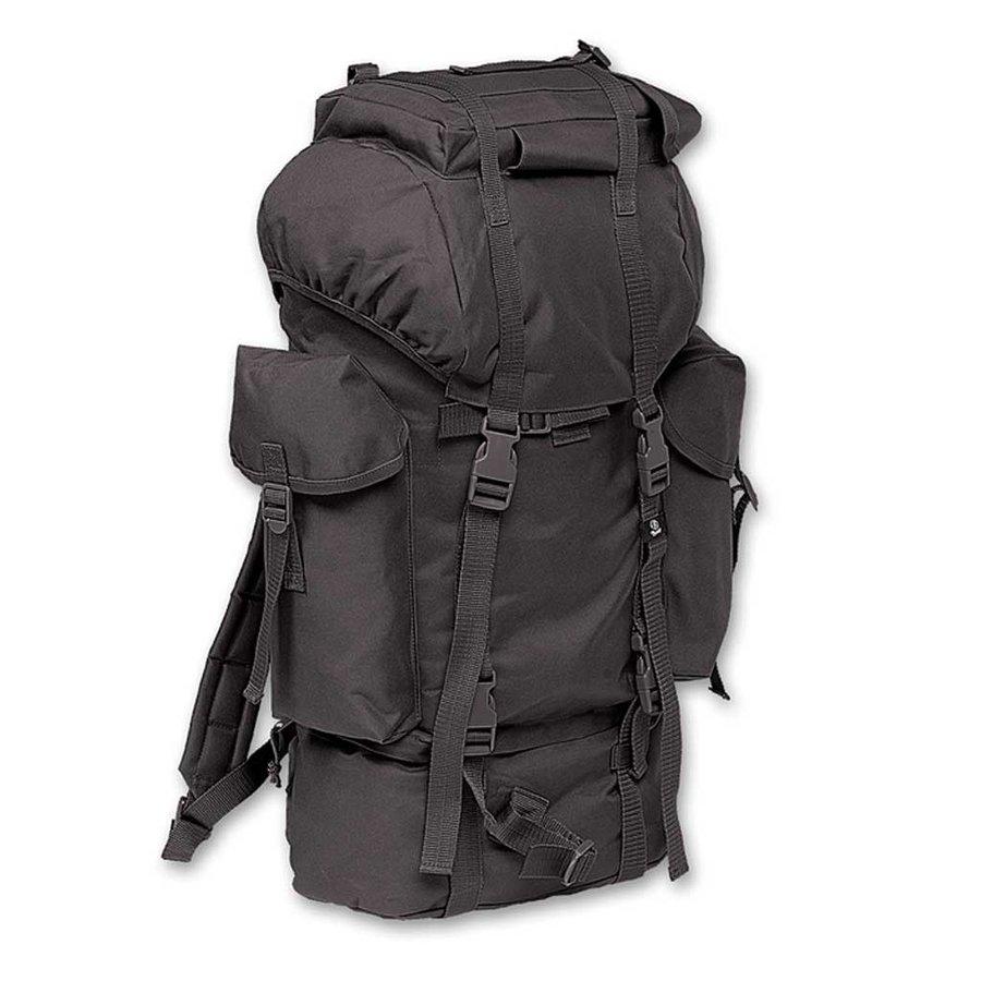 Combat Backpack Zwart  65 Liter Rugzak