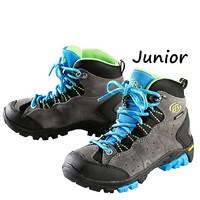 Brutting Mount Bona High Grijs-Blauw Wandelschoenen Kinderen