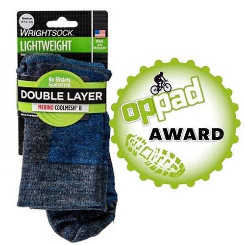 Anti-Blaren Sokken.  ✔1 sok = 2 lagen!