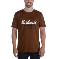 Carhartt Made To Last Walnut Heather T-Shirt Heren