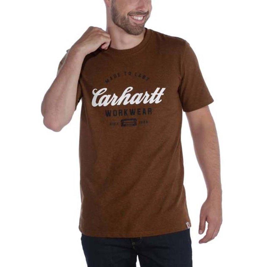 Made To Last Walnut Heather T-Shirt Heren