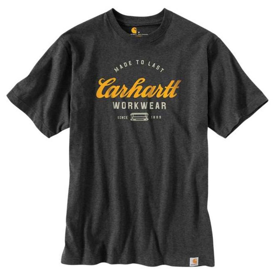 Made To Last Carbon Heather T-Shirt Heren