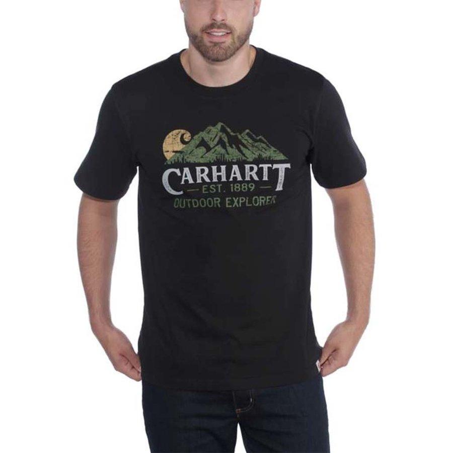 Explorer Graphic Zwart T-Shirt Heren