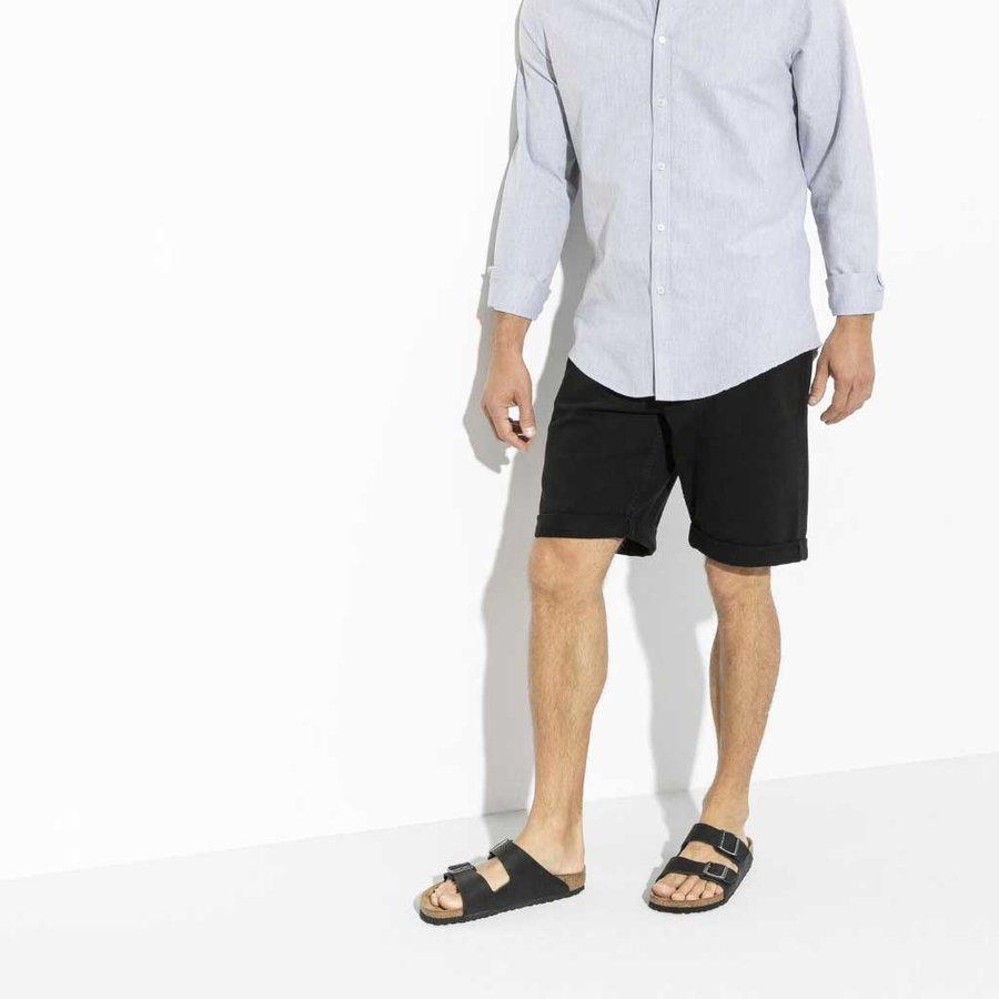 Arizona Habana Leer Zwart  Slippers Heren