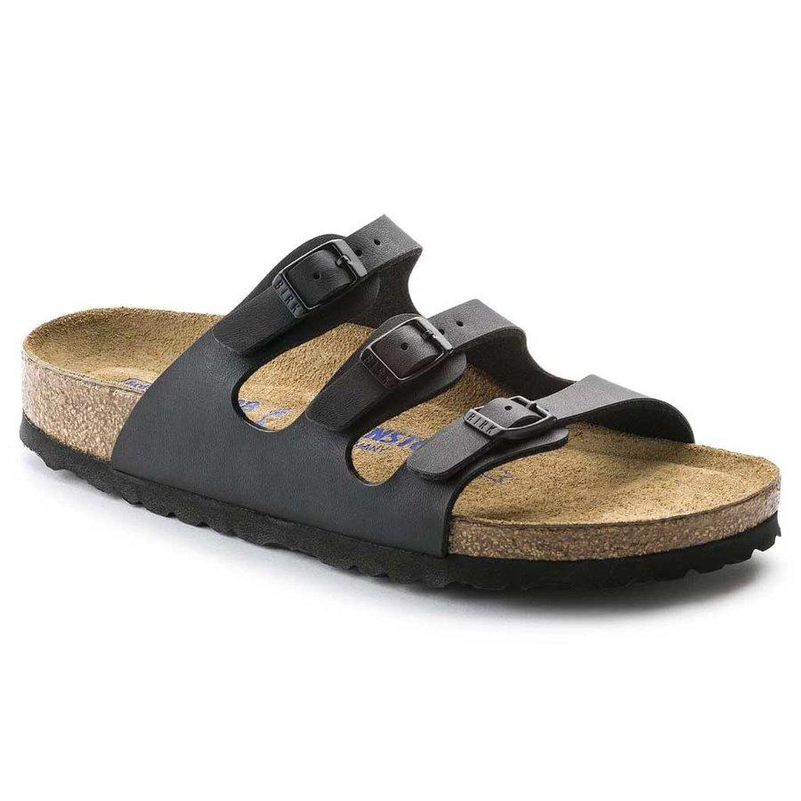 Florida Zwart Slippers Dames
