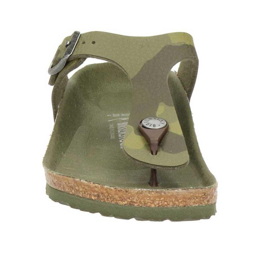 Gizeh Desert Soil Camo Green Slippers Kids