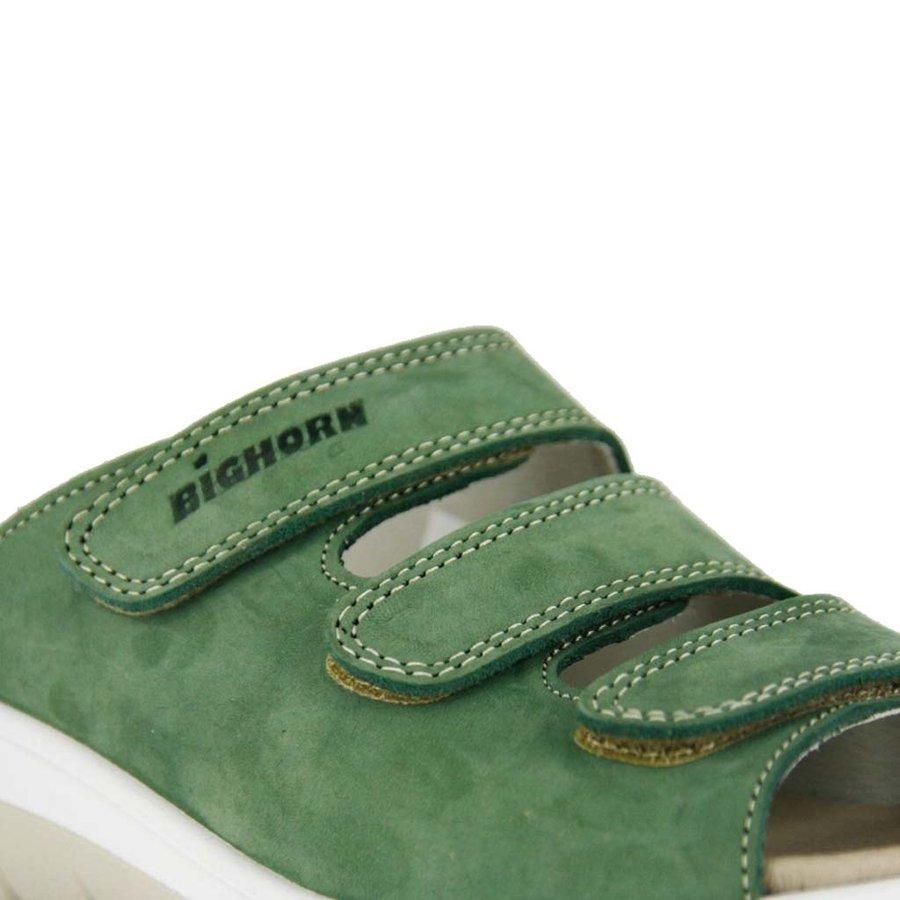 4201 Groen Gezondheidsslippers Dames
