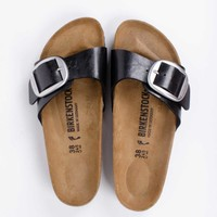 Madrid Graceful Licorice Slippers Buckle Dames