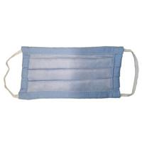Bundel 5 Stuks Mondmaskers - Mondkapjes Wasbaar 60 graden Blauw