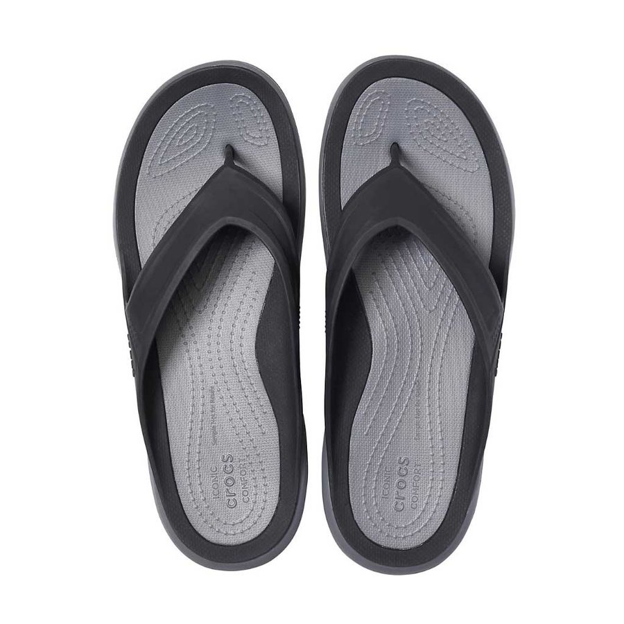 Swiftwater Wave Black-Slate Grey Slippers Heren