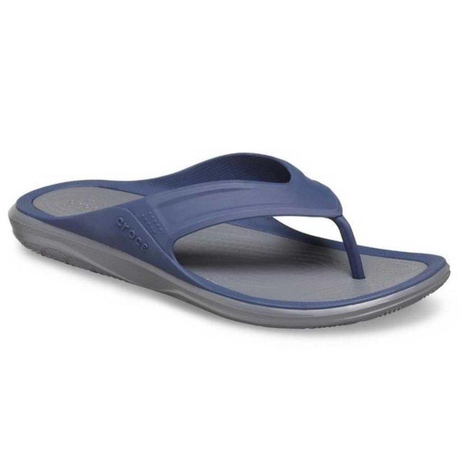 Swiftwater Wave Navy-Grey Slippers Heren