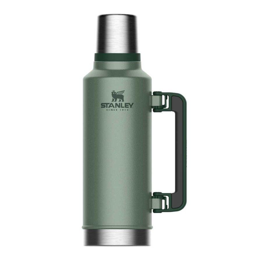 Classic Vacuum Bottle 1,4 Liter Hammertone Green Thermosfles