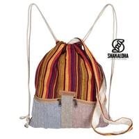 Hicker Bag Oranje Geel Rugtas