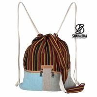 Hicker Bag Rood Geel Rugtas