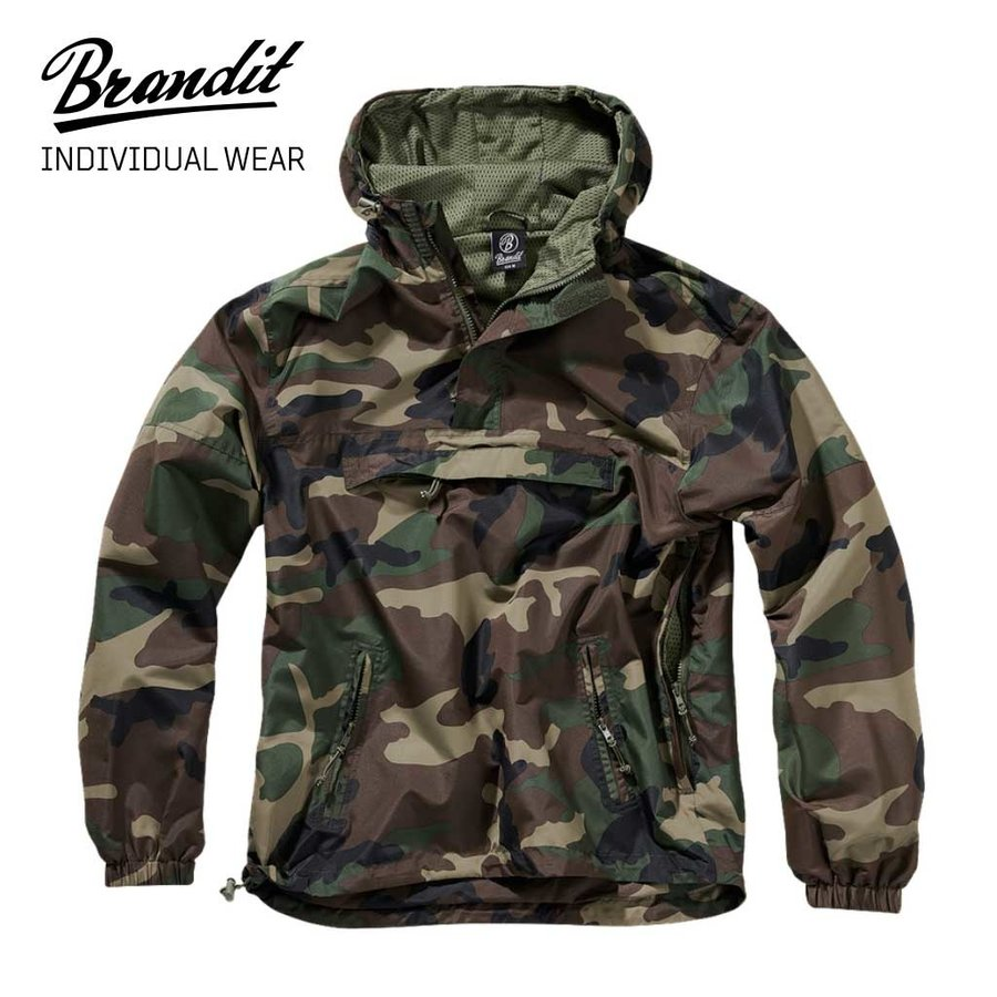 Summer Windbreaker Woodland Heren