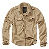 Brandit Vintage Shirt Longsleeve Camel Overhemd Heren