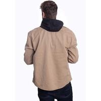 Vintage Shirt Longsleeve Camel Overhemd Heren