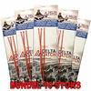 Delta Catch 10x BUNDEL 3-Haaks Zeevis Onderlijn nr. 4 Afhouders