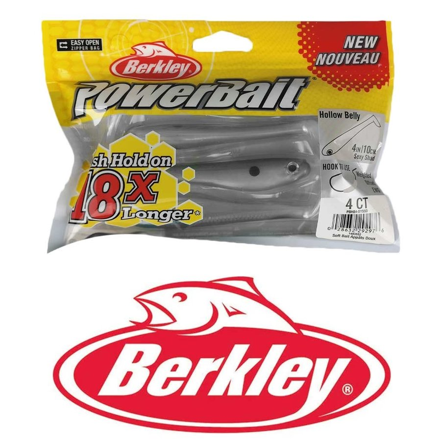 Powerbait Hollow Belly 10cm Sexy Shad Kunstaas