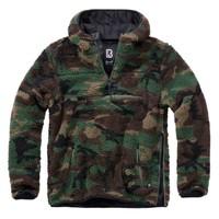 Brandit Teddyfleece Worker Pullover Woodland Sweater Heren