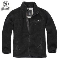 Teddyfleece Jacket Zwart Fleece Jas Heren