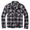 Brandit Check Shirt Black-Charcoal Flanel Overhemd Heren