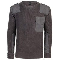 BW Pullover Antraciet Sweatshirt Heren